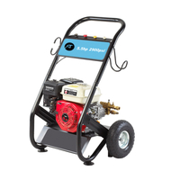 Hot Water High Pressure Washer , 2900PSI 5.5HP Grease Cleaning Gas Powered Pressure Washer